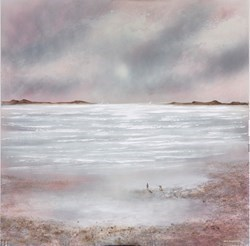 Boundless Shores V by Mia Cameron -  sized 30x30 inches. Available from Whitewall Galleries